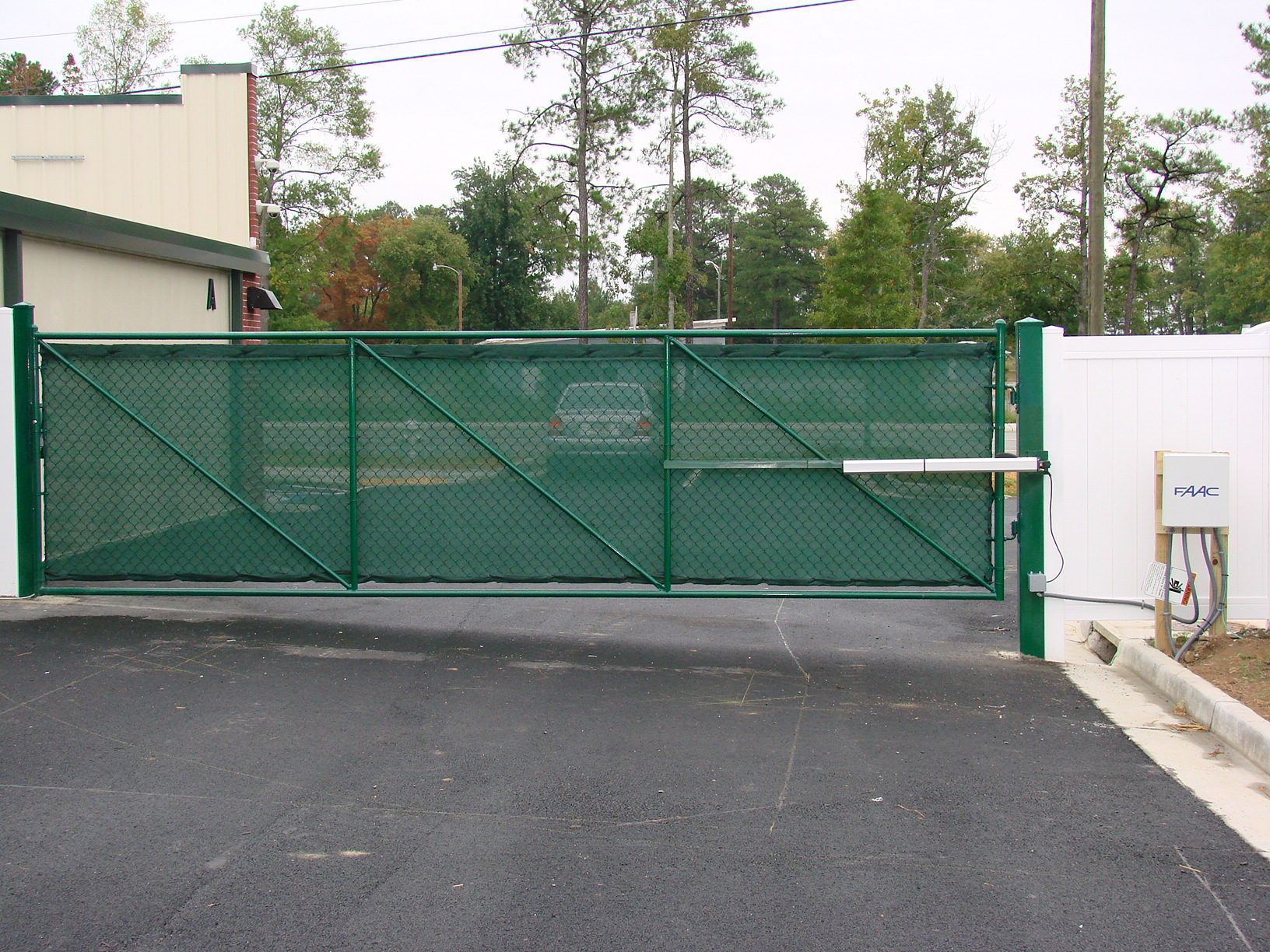 Commercial automatic gates security charlotte nc