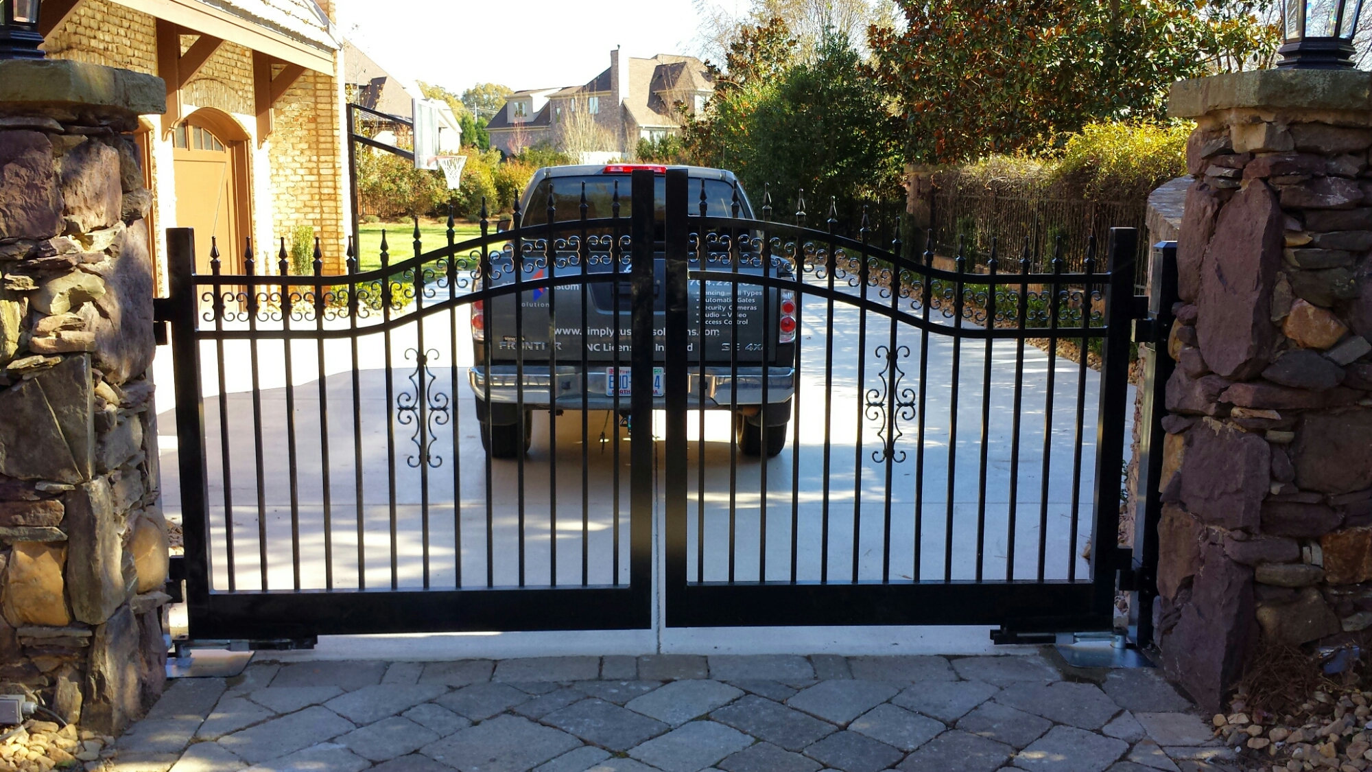 Residential Automatic Gates Charlotte Greensboro Nc